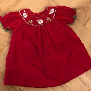 petit bebe Dresses - Petit Bebe Christmas Dress